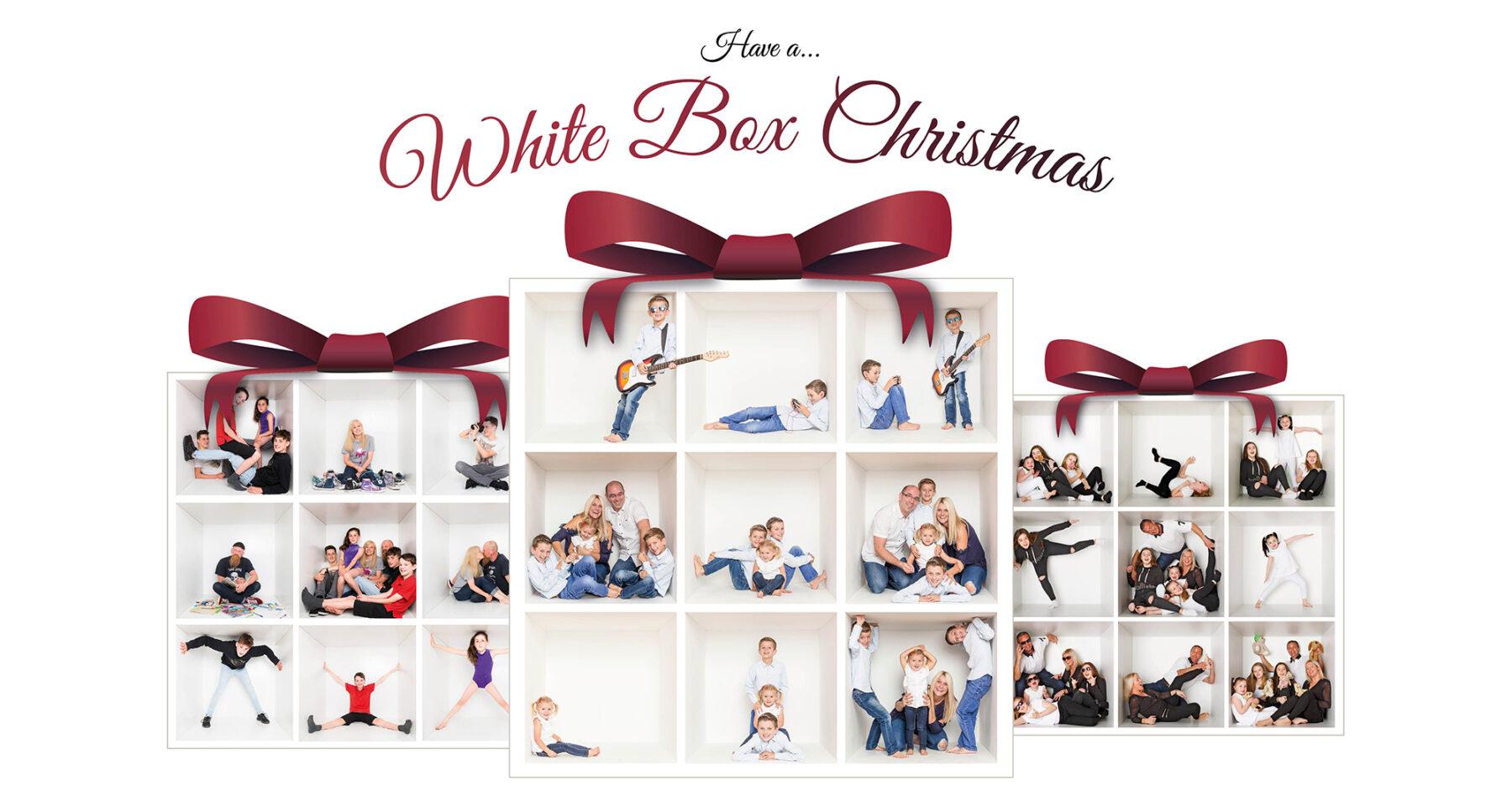 Brighton Photographer - the white box Christmas offer